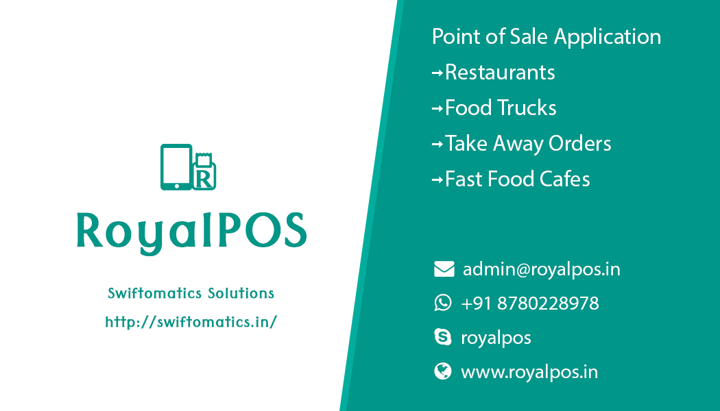 RoyalPOS   Cloud Based Android Point of Sale Application
