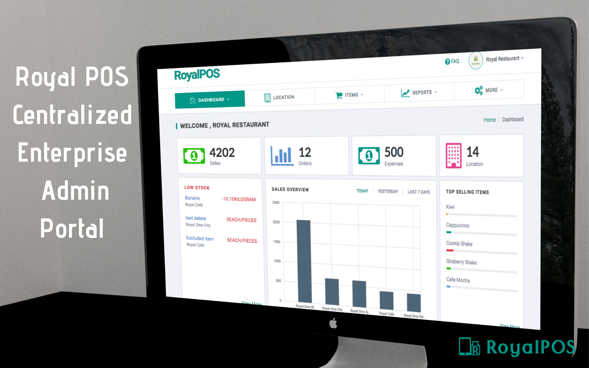 RoyalPOS | Point of Sale Application | Cloud based POS